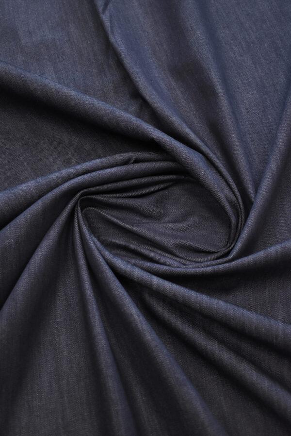 Джинс стрейч черничного оттенка (9381) - Фото 8