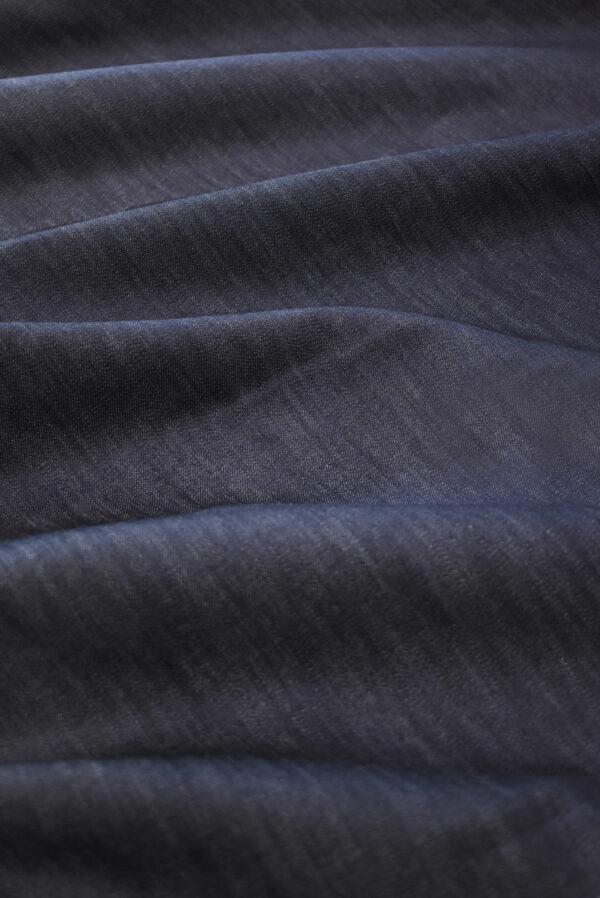 Джинс стрейч черничного оттенка (9381) - Фото 6