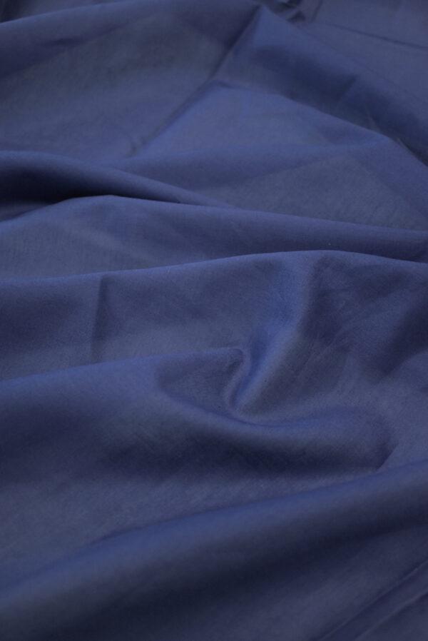 Хлопок рубашечный темно-синего оттенка (9398) - Фото 6