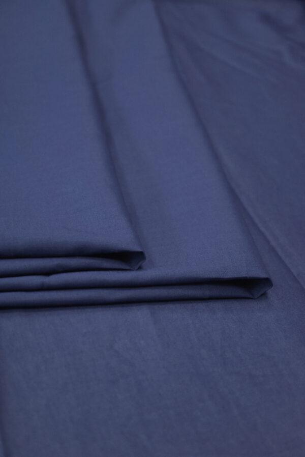 Хлопок рубашечный темно-синего оттенка (9398) - Фото 8