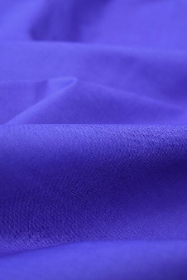 Хлопок рубашечный василькового оттенка (9401) - Фото 10