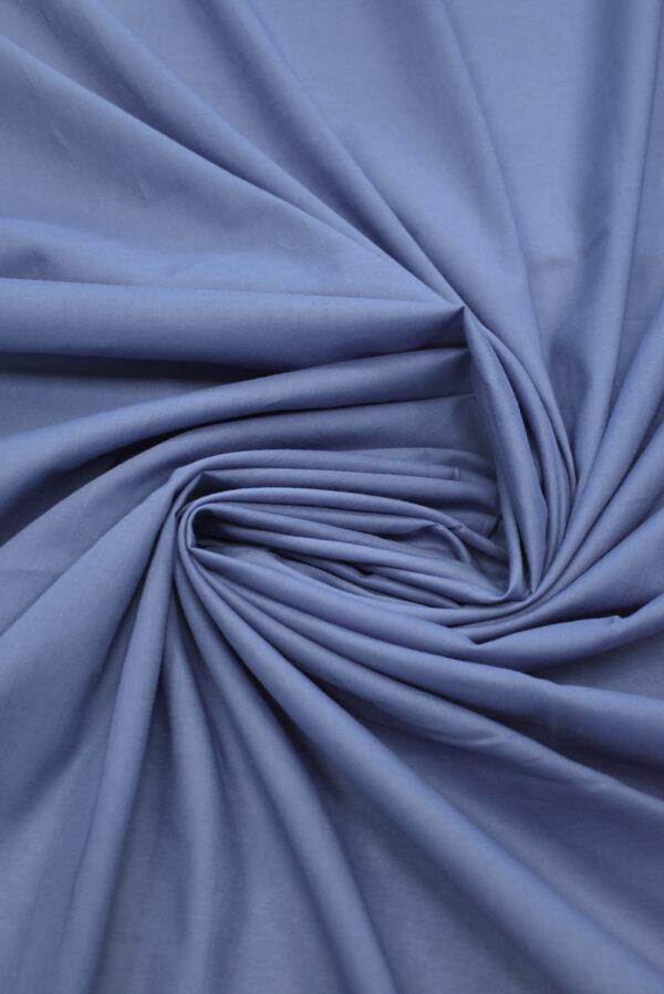 Хлопок серо-голубого оттенка (9402) - Фото 7
