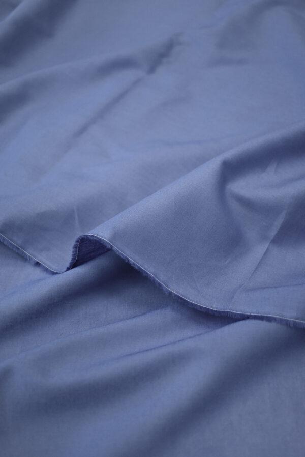 Хлопок серо-голубого оттенка (9402) - Фото 9