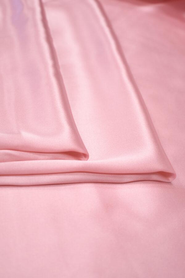 Шелк атласный розовый (9464) - Фото 8