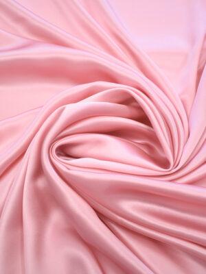 Шелк атласный розовый (9464) - Фото 16
