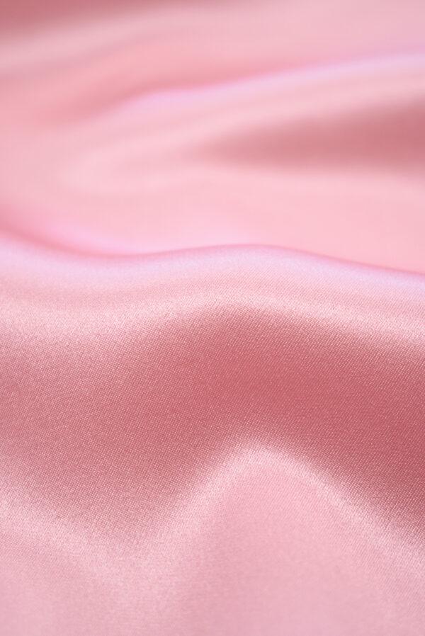 Шелк атласный розовый (9464) - Фото 10