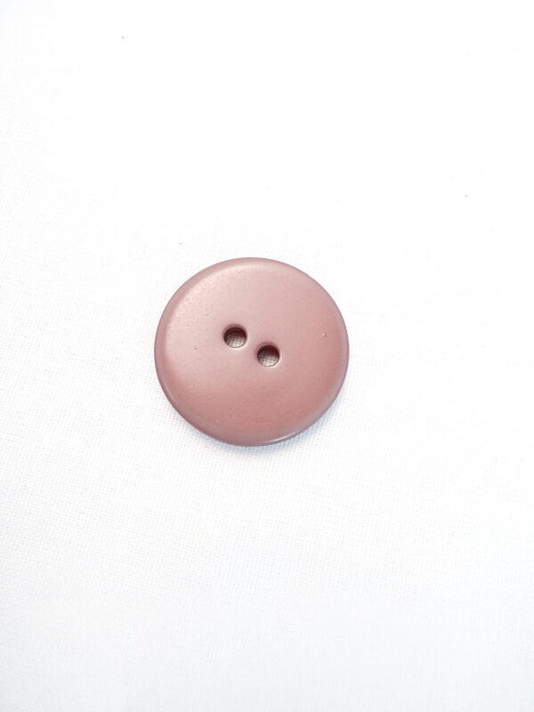 Пуговица пластик круглая на прокола пальтовая кремовая 27мм (p0622) к3 - Фото 8