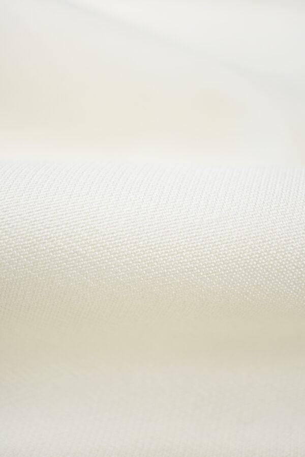 Тафта шелк молочный (7005) - Фото 10