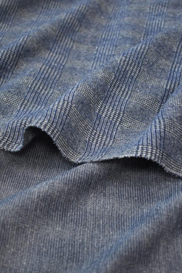Джерси в серо-синюю клетку (9289) - Фото 9
