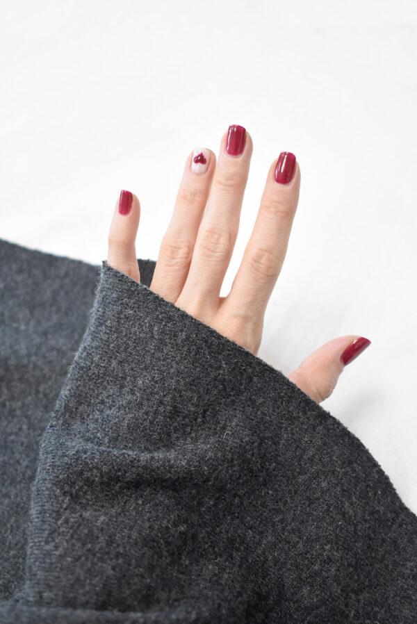 Джерси шерсть темно-серого оттенка (9345) - Фото 7