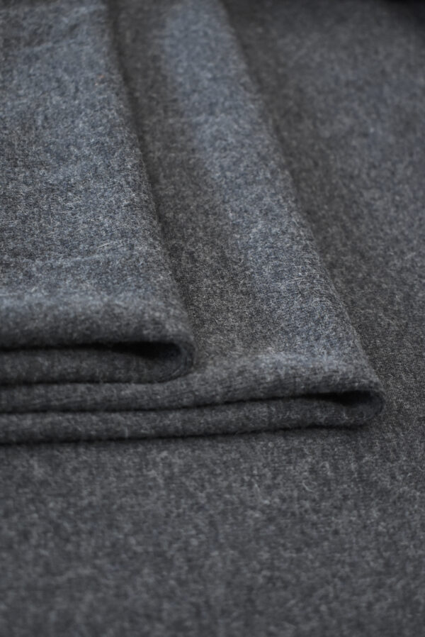 Джерси шерсть темно-серого оттенка (9345) - Фото 9