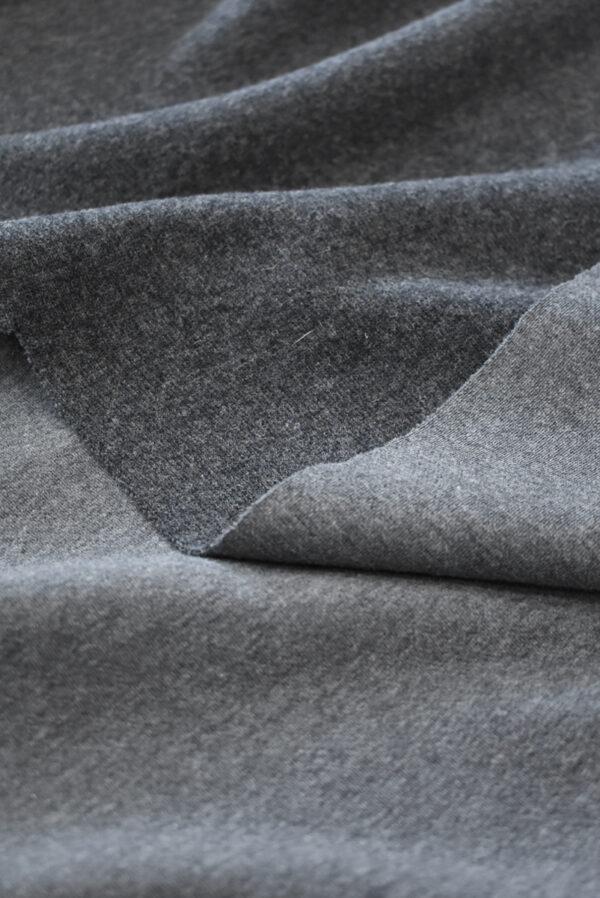 Джерси шерсть темно-серого оттенка (9345) - Фото 10