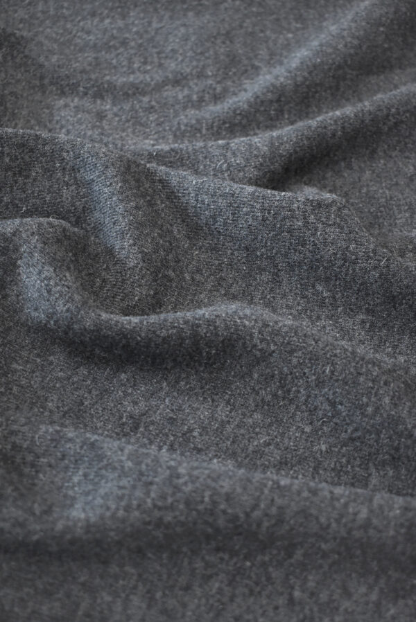 Джерси шерсть темно-серого оттенка (9345) - Фото 6