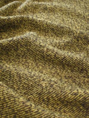 Джерси шерсть коричневый с горчичным меланж (9346) - Фото 12