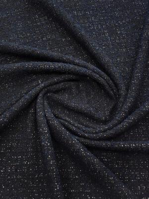 Букле черника с люрексом (9387) - Фото 16
