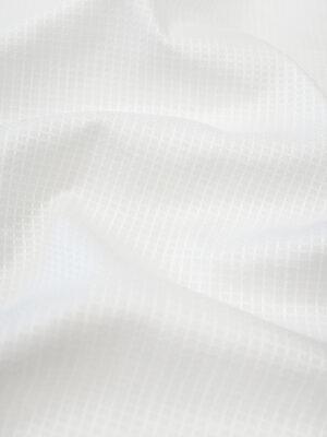 Пике белый с выработкой в клетку (9477) - Фото 20