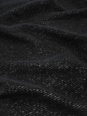 Трикотаж букле черный фактурный (9618) - Фото 13