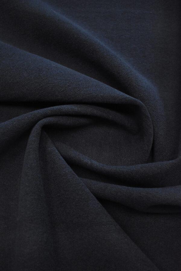 Неопрен букле темно-синего оттенка (9622) - Фото 8