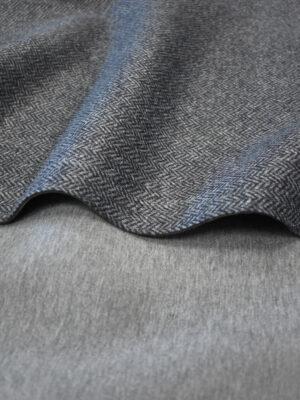 Твид неопрен серый в елочку (9626) - Фото 29