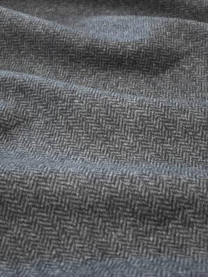 Твид неопрен серый в елочку (9626) - Фото 28