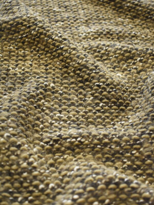 Трикотаж букле бежевый с коричневым (9615) - Фото 14