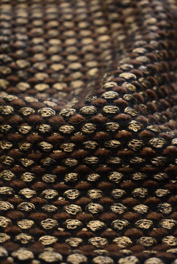 Трикотаж букле шоколадный оттенок (9675) - Фото 10