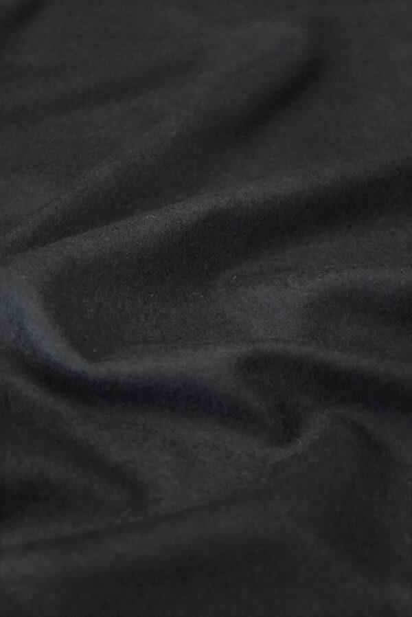 Трикотаж черный шерсть с кашемиром (9694) - Фото 6