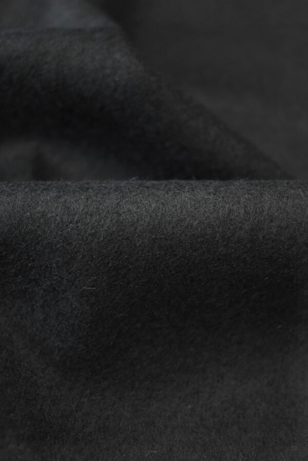 Трикотаж черный шерсть с кашемиром (9694) - Фото 11