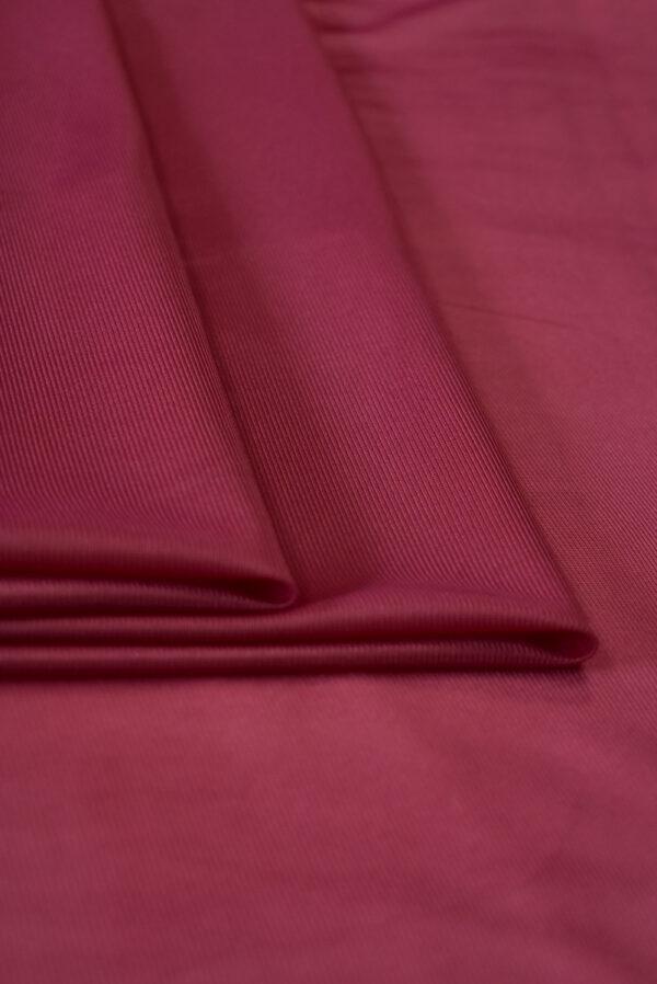 Подклад трикотажный вишневого цвета (9774) - Фото 8