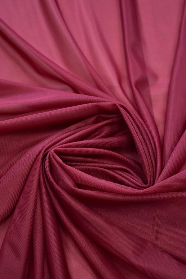 Подклад трикотажный вишневого цвета (9774) - Фото 7