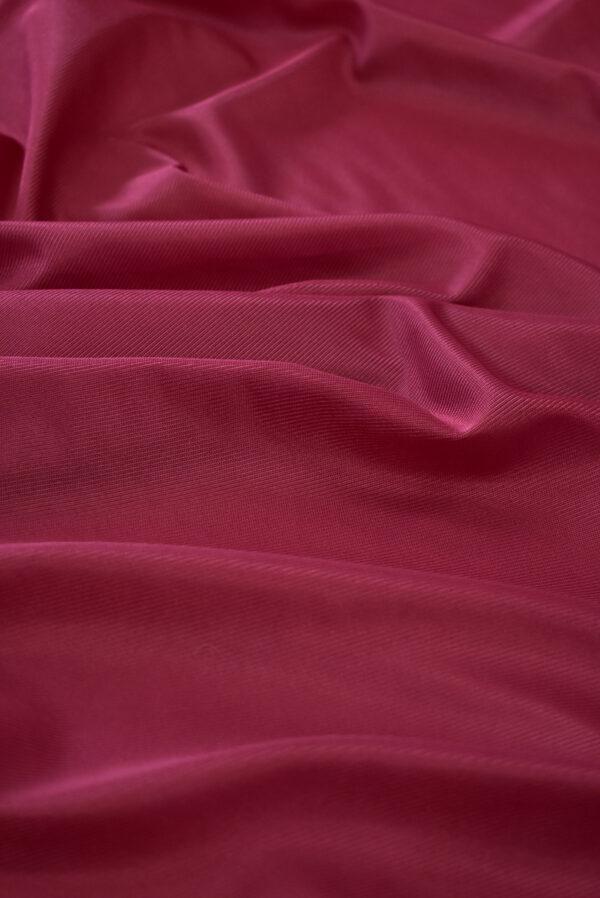 Подклад трикотажный вишневого цвета (9774) - Фото 6
