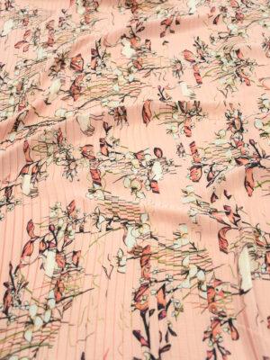Плиссе розового оттенка с цветами (9759) - Фото 10