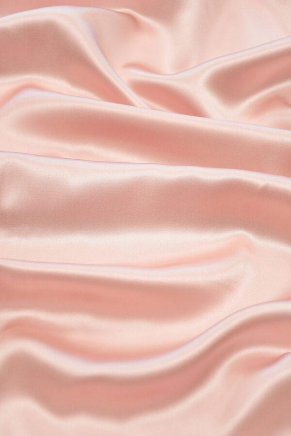 Шелк атласный розового оттенка (9768) - Фото 6