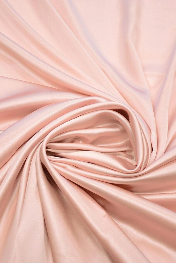 Шелк атласный розового оттенка (9768) - Фото 7