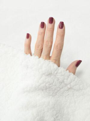 Мех искусственный подкладочный белый (9889) - Фото 27
