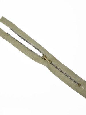 Молния металл брючная на оливковой тесьме с бегунком 4 м (m1211) - Фото 17