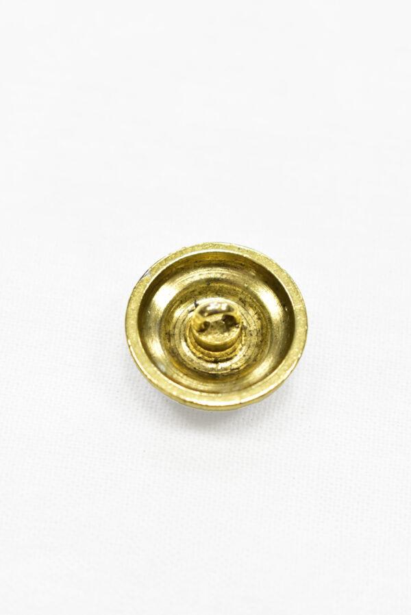 Пуговицы металл золото с надписью и сердечком (р0031) к-2 - Фото 7