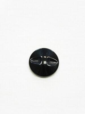 Пуговица коричневая в полоску с черным ободком маленькая (р1410) - Фото 13