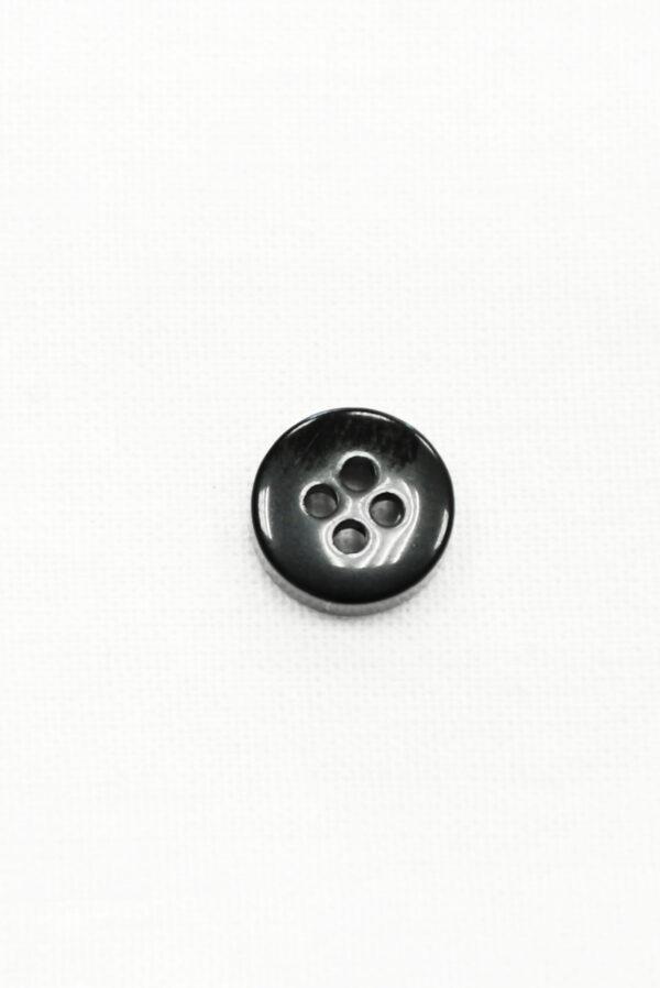 Пуговица пластик черная в клетку (р1412) - Фото 8