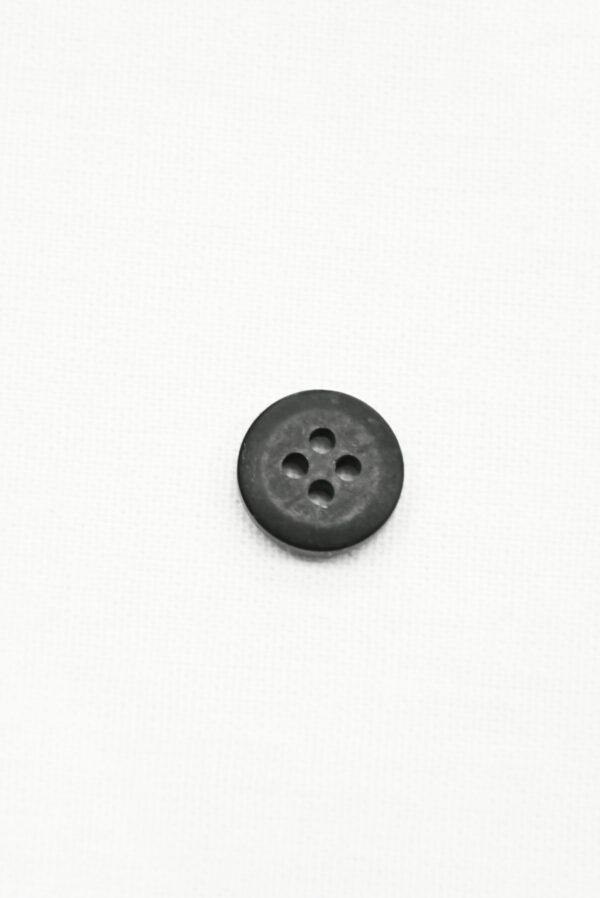 Пуговица пластик черная с желтым надпись popular (р1419) - Фото 8