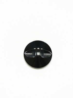 Пуговица бежевая в полоску с черным ободком (р1423) - Фото 9
