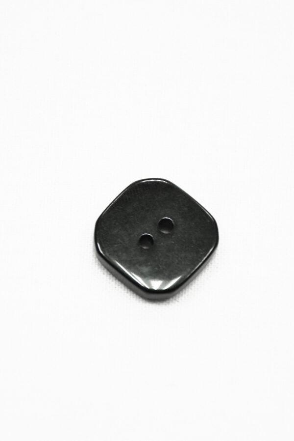 Пуговица пластик черная с клетчатой серединкой (р1424) - Фото 7