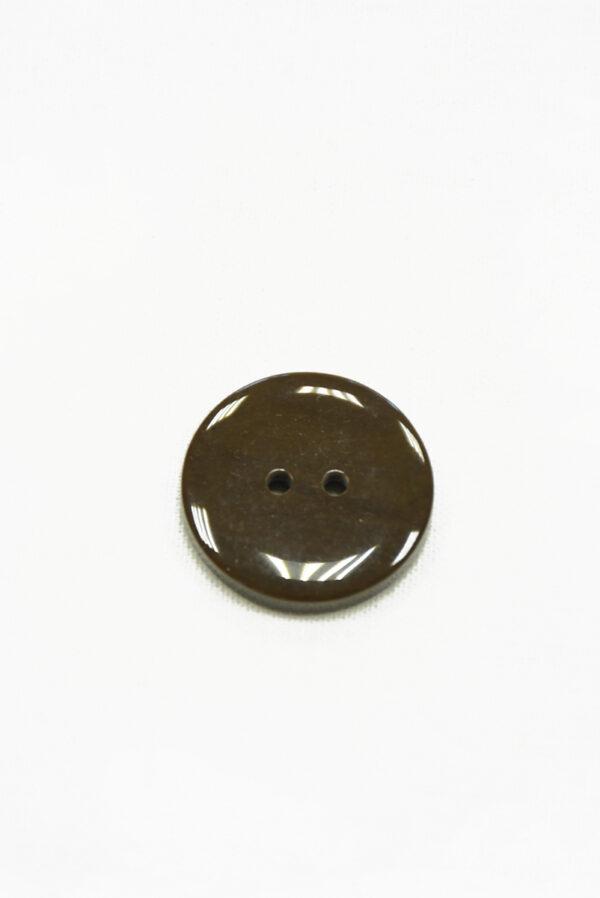 Пуговица пластик коричневая на прокол (р1430) - Фото 7