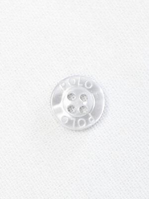 Пуговица пластик прозрачная с надписью (р1460) - Фото 14