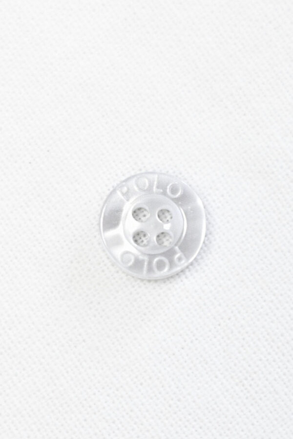 Пуговица пластик прозрачная с надписью (р1460) - Фото 6