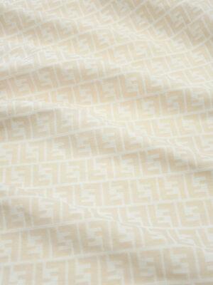 Жаккард белый с пудровыми буквами (9592) - Фото 28