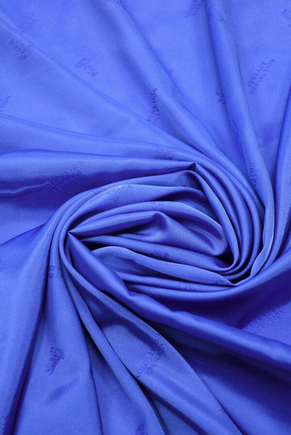 Подклад стрейч синий электрик (9884) - Фото 7