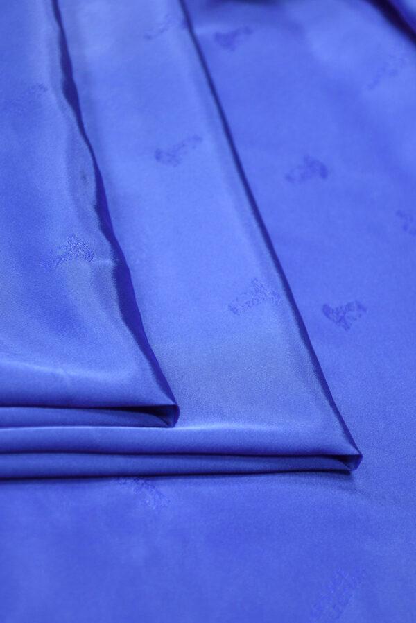 Подклад стрейч синий электрик (9884) - Фото 8