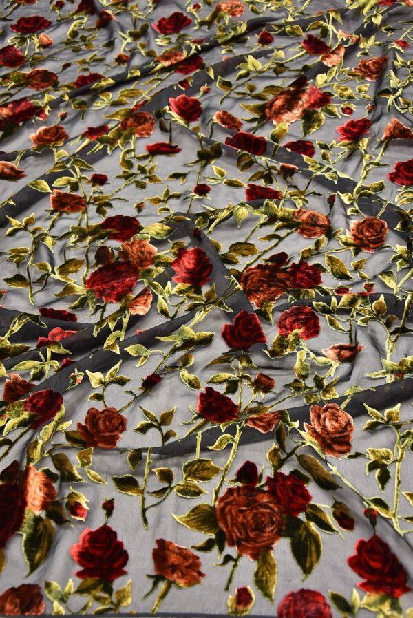 Панбархат красные розы (10491) - Фото 6