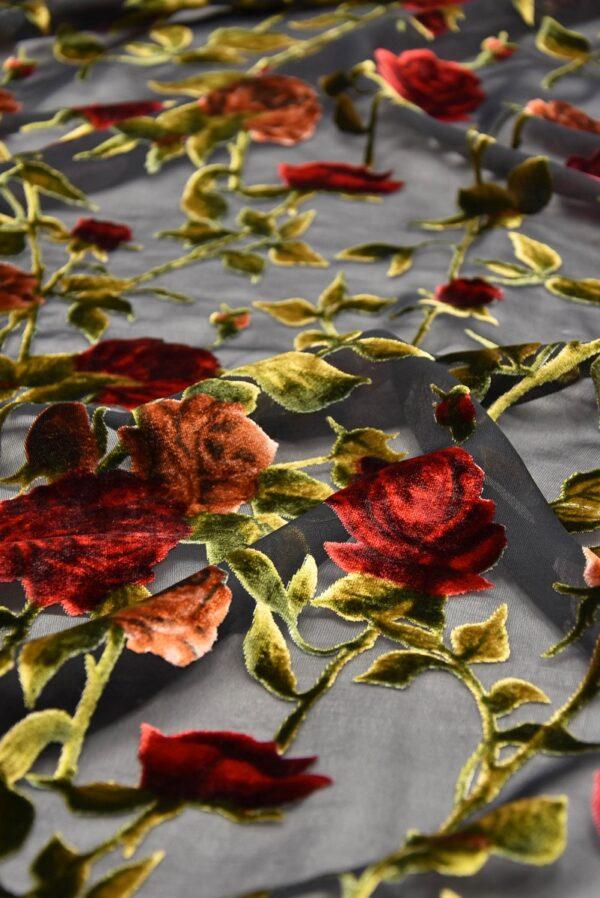 Панбархат красные розы (10491) - Фото 11
